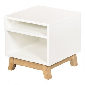 Trendy Night table - White   White Quax