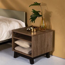 Trendy Night table - Royal Oak Nature Quax