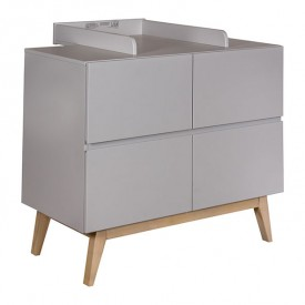 Trendy changing station extension - Griffin Grey Grey Quax