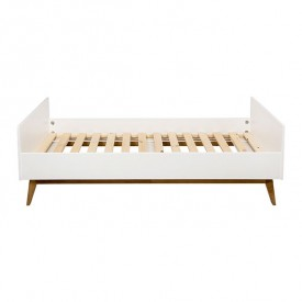 trendy junior bed 90x200cm white white quax