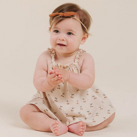 Little Knot Headband - Terracotta Brown Rylee + Cru