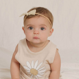 Little Knot Headband - Butter Beige Rylee + Cru