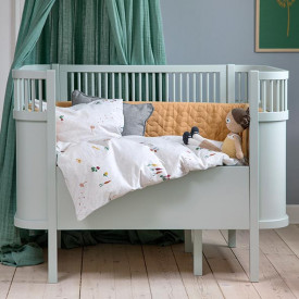 Convertible Bed - Mist Green Green Sebra