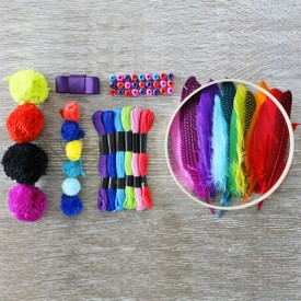 Make Your Own Dreamcatcher Multicolour Seedling