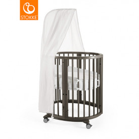 Sleepi Mini Cradle - Mattress incl. - Hazy Grey Grey Stokke®