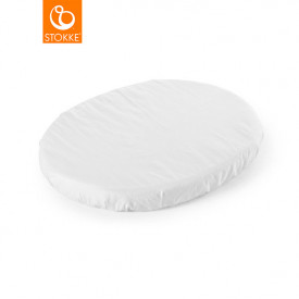 Fitted sheet for Sleepi Mini Cradle - White - 80 cm (72 x 54 cm) White Stokke®
