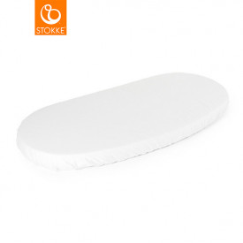 Fitted sheet for Sleepi Junior Bed - White - 160 cm (165 x 67 cm) White Stokke®