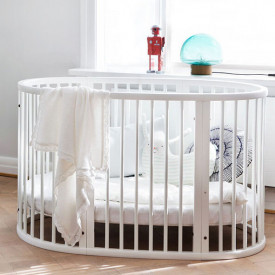 Sleepi Baby Crib - Mattress incl. - White White Stokke®