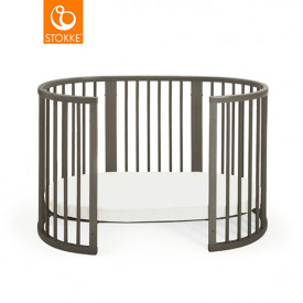 Sleepi Baby Crib - Mattress incl. - Hazy Grey Grey Stokke®