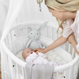 Sleepi Mini Cradle Bumper - White White Stokke®