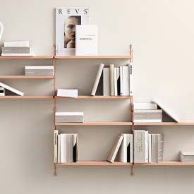 Pocket Shelf - Blush Pink String Furniture