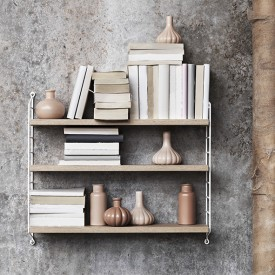 Pocket Shelf - Oak / White Nature String Furniture