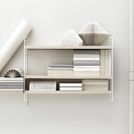 Pocket Shelf - Ash / White Nature String Furniture