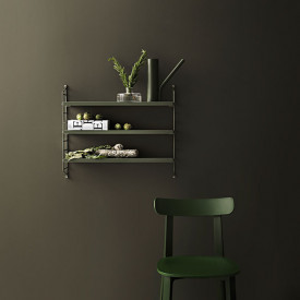 Pocket Shelf - Sage Green String Furniture