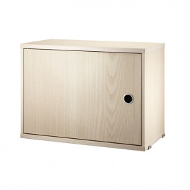 Cabinet w/ Swing Door 58 x 30 cm - Ash Nature String Furniture
