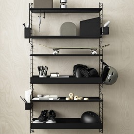 Wall Panel 50 x 30 cm - Black Black String Furniture