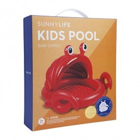 Kids Pool Crabby Red Sunnylife