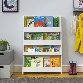 Bookcase - White White Tidy Books