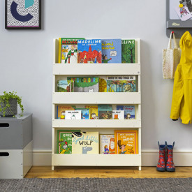 Bookcase - Ivory Beige Tidy Books