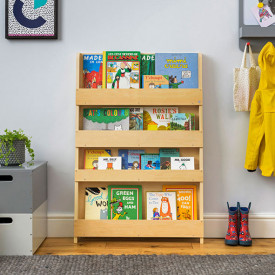 Bookcase - Natural Nature Tidy Books