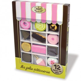 Pastry Toy Set Pink Vilac