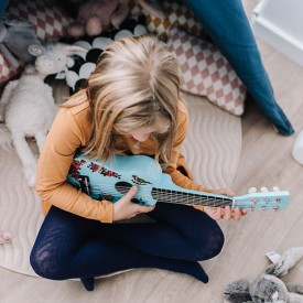 Children's Guitar - Nathalie Lete Blue Vilac
