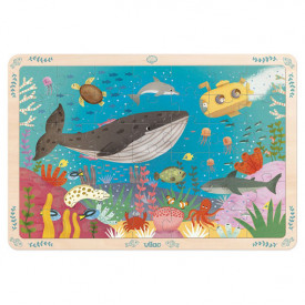 Puzzle 42 pces - Sea World Multicolour Vilac