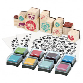 Stamps - Mandalas Multicolour Vilac