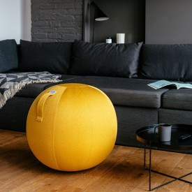 LEIV Seating Ball 65cm - Mustard Yellow VLUV