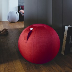 LEIV Seating Ball 65cm - Ruby  Red VLUV