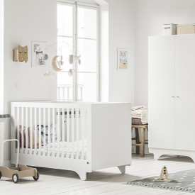 Crib 70 x 140 cm Playwood - White White Vox