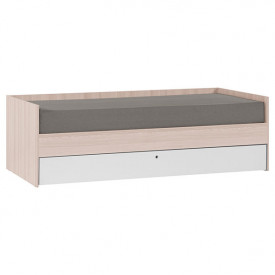 Day Bed 90x200cm Spot + Trundle Bed Nature Vox