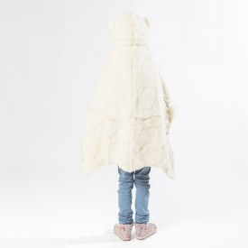 Animal Costume Polar Bear White Wild and Soft