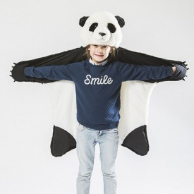 Animal Costume Panda White Wild and Soft