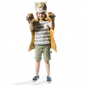 Animal Costume Tiger White Wild and Soft