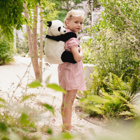 Backpack - Panda White Wild and Soft