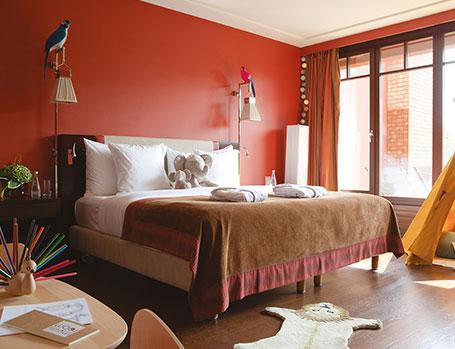 Zimmer - Hotel La Réserve★★★★★ – Genf