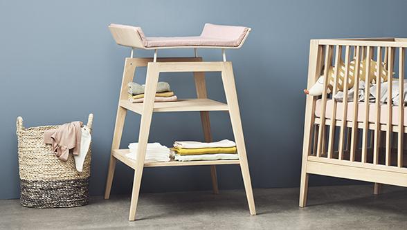 Table à Langer Linea - Chêne par Leander