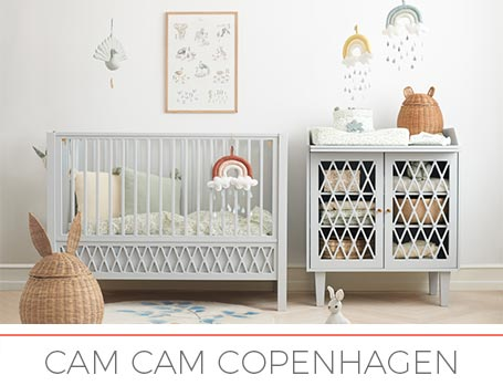 Cam Cam Copenhagen - Baby cribs, kid'beds, decoration and toys