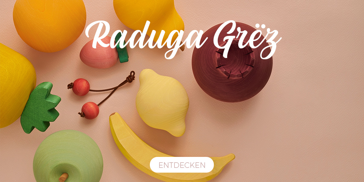 Raduga Grëz - Holzspielzeug
