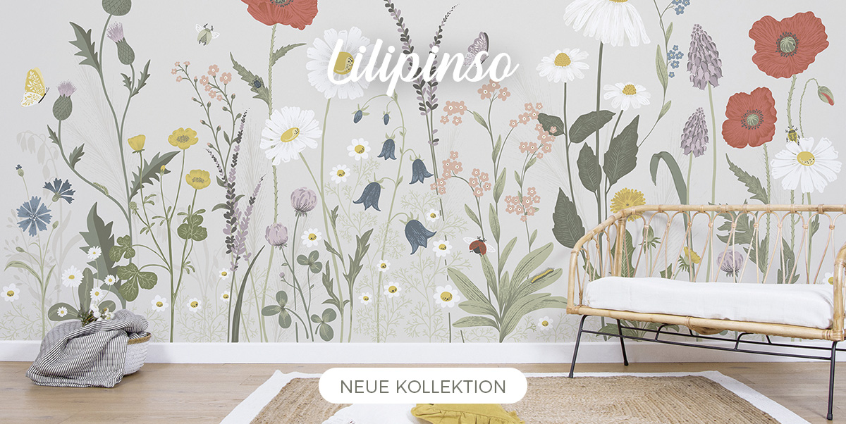 Lilipinso - Posters, Wandstickers, Tapete, Teppiche