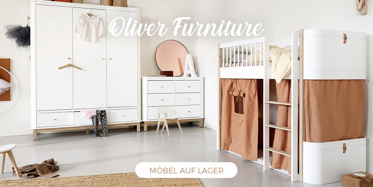 Oliver Furniture - Babybetten und Kinderbetten auf Lager