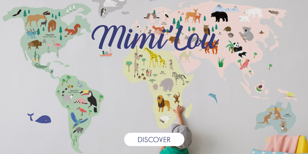 Mimi'Lou - Wall Stickers for kids