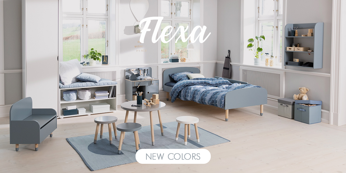 Flexa - New colors of Play collection