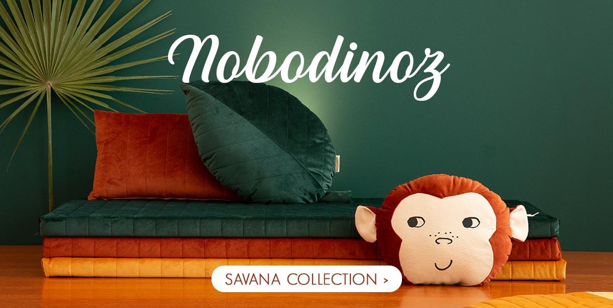 Nobodinoz - New velvet collection Savana