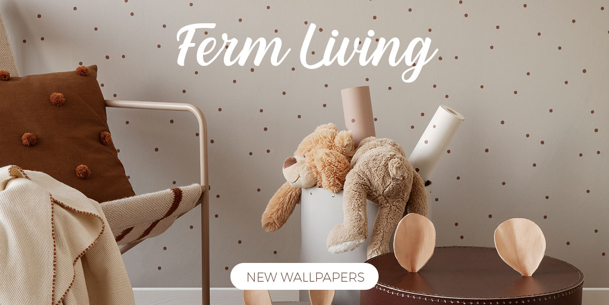 Ferm Living Kids - Wallpapers for kid's rooms
