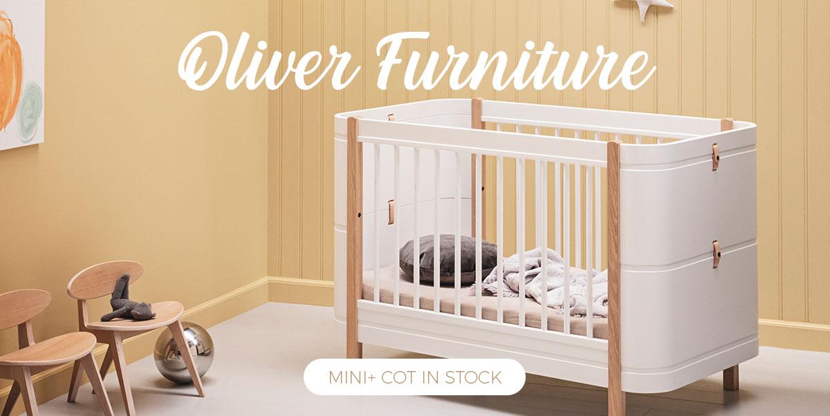 Oliver Furniture - Mini+ baby cot in stock
