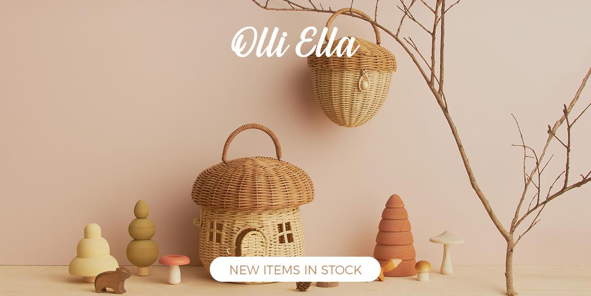 Olli Ella - Kid's baskets, toys, decoration