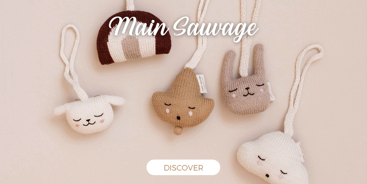 Main Sauvage - Soft Toys and Baby Toys in Alpaca Wool