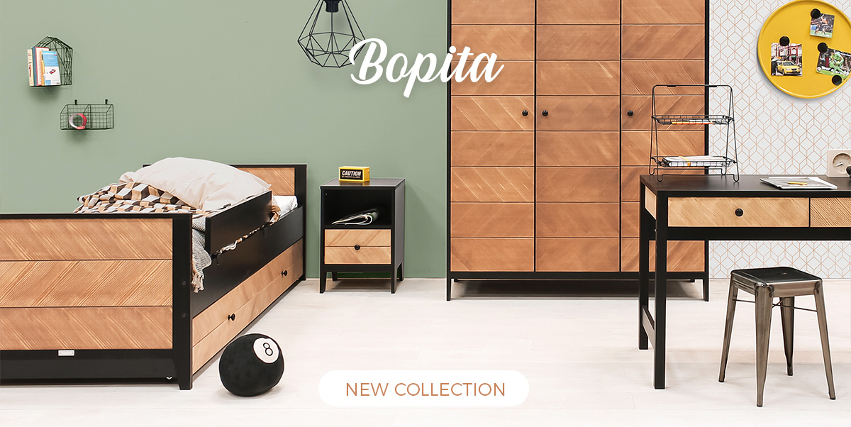 Bopita - Baby Crib, Single Bed, Kid's furniture